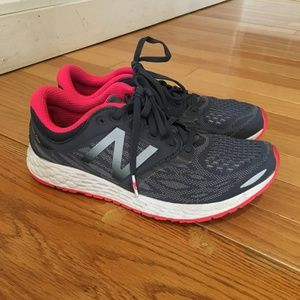 New Balance Womens Wzantkm3 Thunder/Pink Running